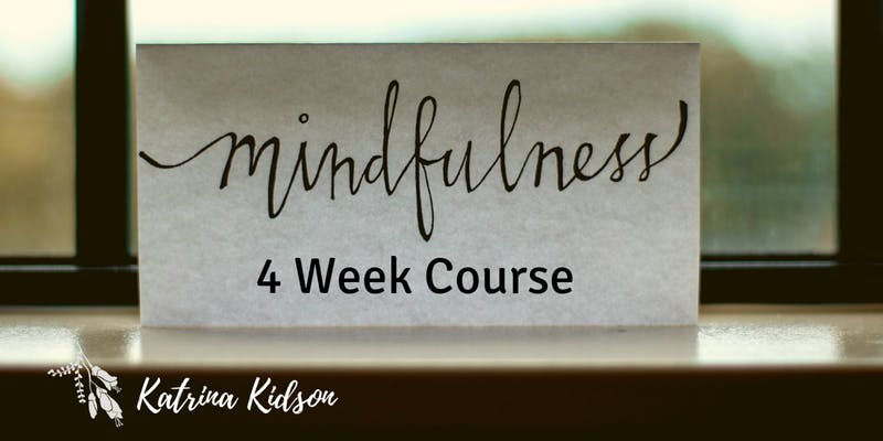 4 Week Mindfulness Course Nelson Poster